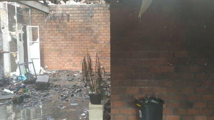 UPDATE: Berawal Dari CCTV yang Mati, Ketut Buda Kaget Tokonya Sudah Hangus Terbakar