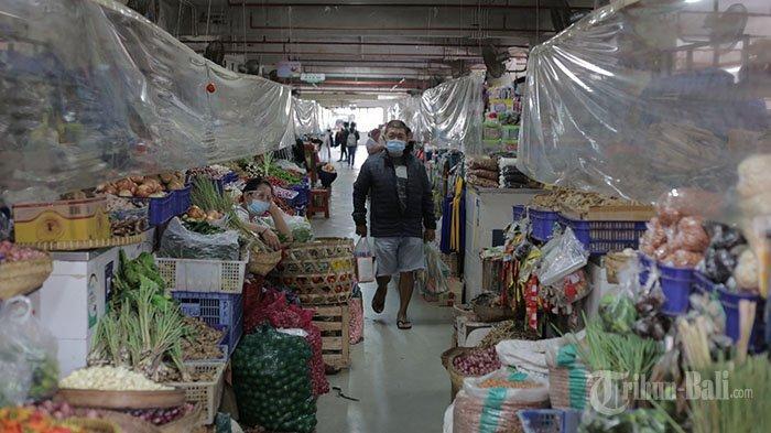 1.684 Pedagang 16 Pasar di Denpasar Tutup Selama PPKM Darurat, Luh Karmasih: Berat Sekali Hidup Ini