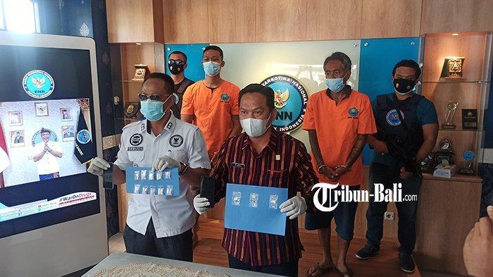 Sawedia Tak akan Dapat Remisi, BNNK Badung Bekuk 2 Pengedar Narkoba Jaringan Lapas