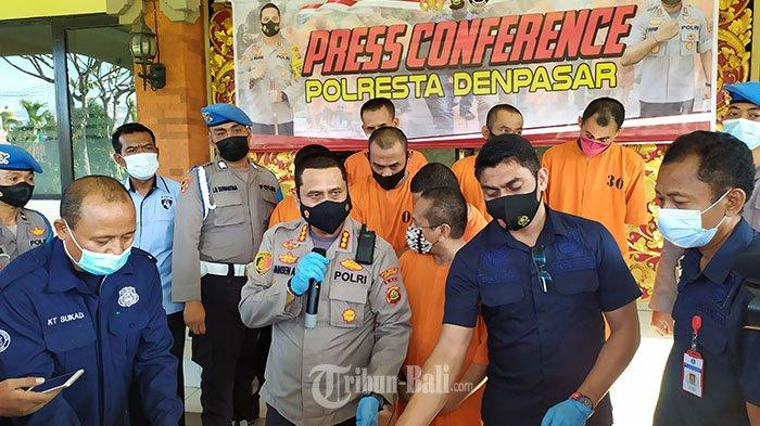 Polresta Denpasar Ungkap 22 Kasus Narkoba dalam Sebulan, 7 Kasus Ini Paling Menonjol