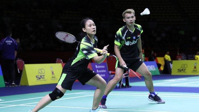 Korea Open 2019, Pasangan Ganda Campuran Indonesia Rinov/Pitha Tekuk Juara Bertahan asal China