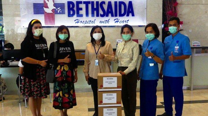 Aksi Peduli Covid-19, Rivera Hand Sanitizer Liquid Dibagikan ke Beberapa Rumah Sakit
