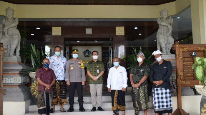 Kapolres Badung Akan Tindak Tegas Jika Ada Aksi Massa Terkait Masalah Pilkel di Desa Angantaka