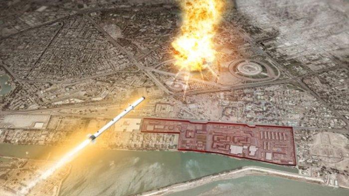Serangan Roket Menghantam Baghdad Irak, 5 Warga Sipil Tewas