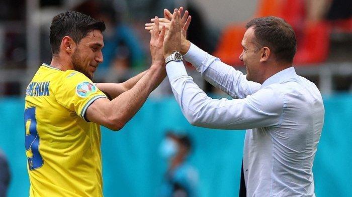Ciamik Bawa Ukraina Tembus Perempat Final Euro 2020, Shevchenko Simpan Ambisi Tangani AC Milan