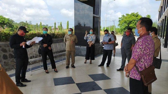 Terkait Persiapan Penanganan Covid-19, Komisi I DPRD TabananGelar Sidak ke Rumah Sakit Nyitdah