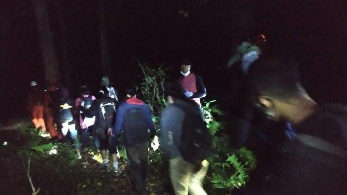 8 Orang Pendaki di Bukit Adeng Tabanan Tersesat, Kejadian Kedua Kali Pekan Ini