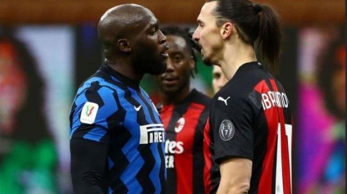 Inter Milan Vs AC Milan - Hanya Selisih Satu Poin, Derbi Milan Bakal Makin Panas
