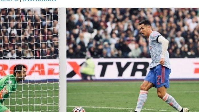 FAKTA-FAKTA Manchester United vs West Ham United, Ronaldo Bikin Rekor Lagi