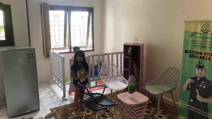 Pencanangan WBK dan WBBM, Kejari Jembrana Beri Ruang Ramah Anak