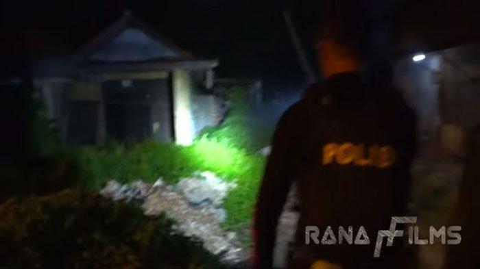 Video Penggeledahan Rumah Angker Viral di Whatsapp, Polisi Teriak Hingga Ada Yang Kesurupan