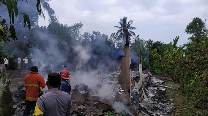 Rumah Dadong Ranti di Jembrana Terbakar, Uang Rp 20 Juta dan 32 Gram Emas Ikut Hangus Dilalap Api