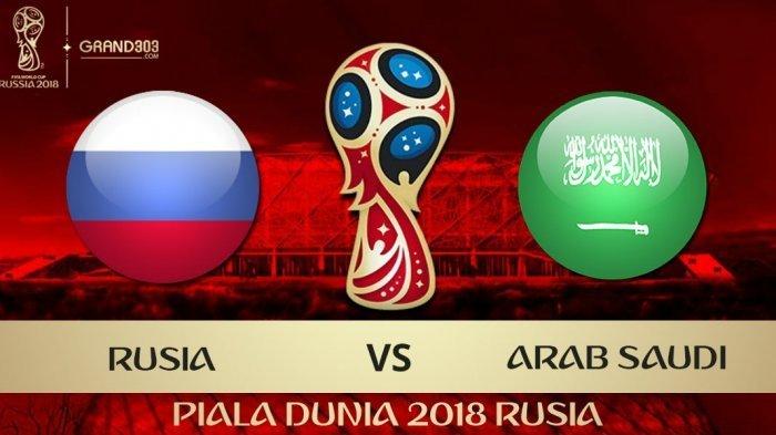 Piala Dunia 2018: Rusia Vs Arab Saudi, Jadi Ajang Pembuktian Tuan Rumah