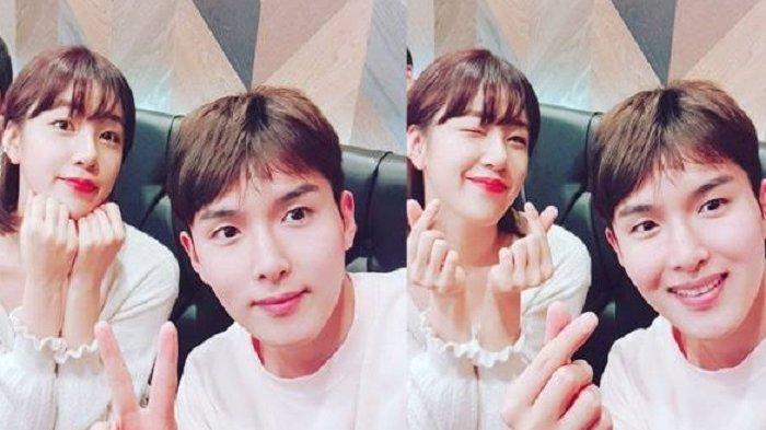 Ryeowook Super Junior dan Ari eks Tahiti.