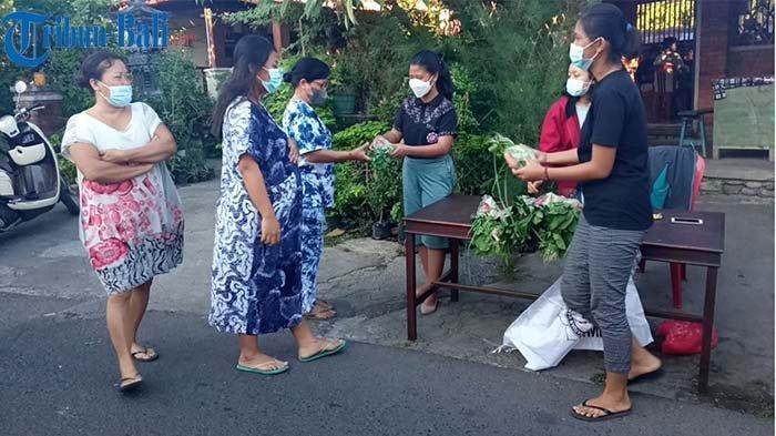 Aksi Solidaritas di Buleleng, Kelompok Pemuda di Buleleng Bagikan Paket Sembako dan Sayuran