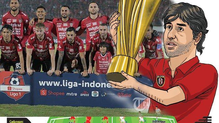 Semen Padang vs Bali United: Saatnya Bali Juara! Teco: Kita Akan Selebrasi di Pulau Bali
