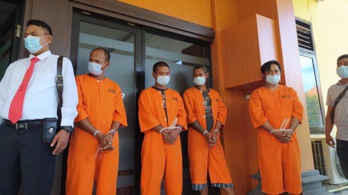 Polisi Amankan 877 Gram Sabu dari Empat Pengedar Jaringan Buleleng Barat