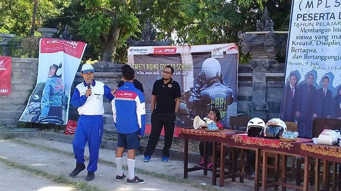 Astra Motor Bali Sambangi Sekolah Binaan Safety Riding Honda Di Singaraja