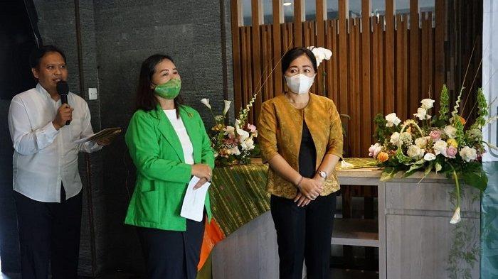 Kembangkan Bunga Lokal, Ketua TPPKK Sagung Antari Jaya Negara Dukung Keberadaan Organisasi IPBI