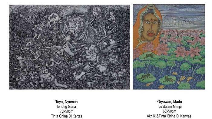 Angkat Tema Ibu Rupa Batuan, 76 Karya Seniman Dipamerkan di Bentara Budaya Bali