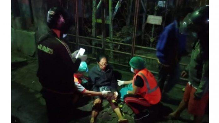 Dua Perempuan Paruh Baya Alami Laka Tunggal di Denpasar, Nyeri Kepala Hingga Luka Robek
