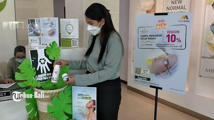 Peringati Hari Lingkungan Hidup Sedunia, Miracle Aesthetic Clinic Bali Kurangi Sampah Skincare