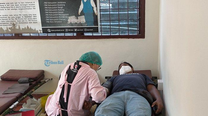 Rata-Rata Pendonor Sampai 40 Per Hari, PMI Provinsi Bali Sebut Stok Darah Masih Mencukupi