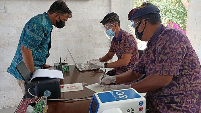 DTW Kawasan Luar Pura Uluwatu Badung Kini Miliki GeNose C-19 untuk Screening Wisatawan