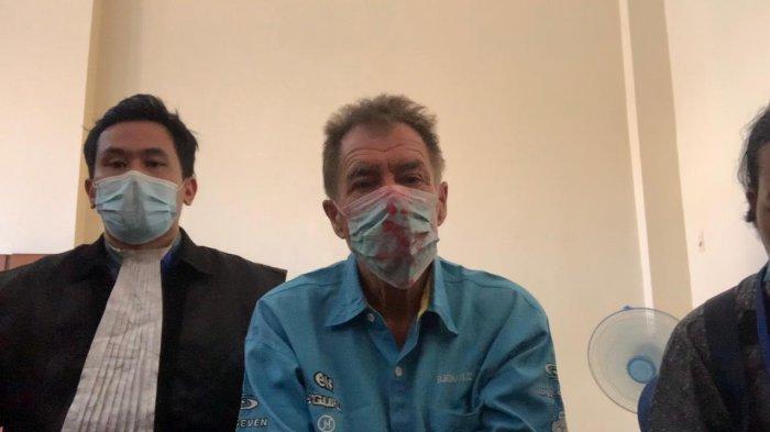 Salahgunakan Sabu di Denpasar, Dituntut 3,5 Tahun Bui, Pensiunan AL Inggris Minta Keringanan