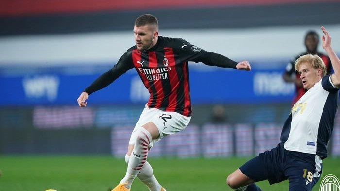 Ante Rebic gagal mencetak gol untuk AC Milan, akan tetapi timnya unggul atas Sampdoria pada babak pertama.