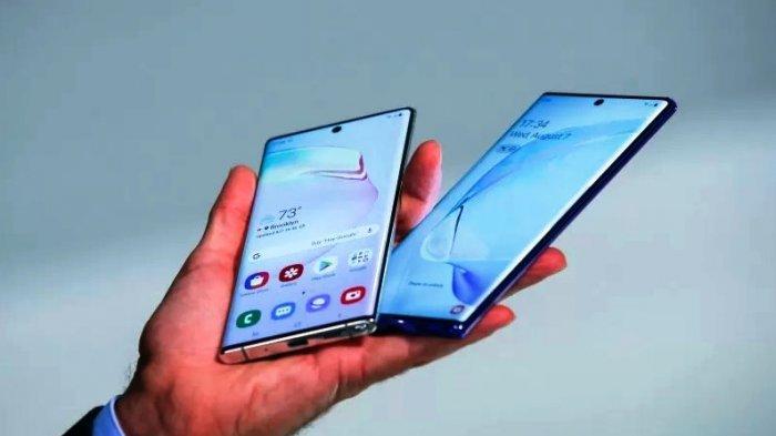 Samsung Galaxy Note 10 Plus pada