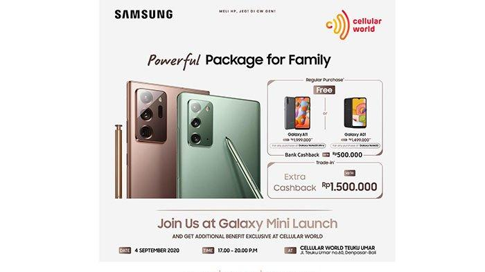 Mini Launch Samsung Note 20 di Cellular World, Dapatkan Doorprize Menarik