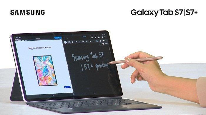 Tablet Multitasking Cocok untuk Kerja dan Main Game, Ini Spesifikasi Samsung Galaxy Tab S7 Series