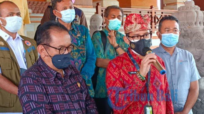Menparekraf Sandiaga Uno Dorong Pengembangan Subsektor Seni Pertunjukan Jadi Andalan di Gianyar Bali