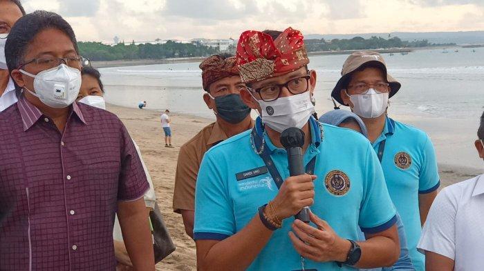 Kuta Belum Ditetapkan Jadi Green Zone, Menparekraf: Will Be Next Buat Kita