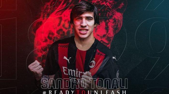 Sandro Tonali Akui Impiannya Tercapai Setelah Resmi Berseragam AC Milan
