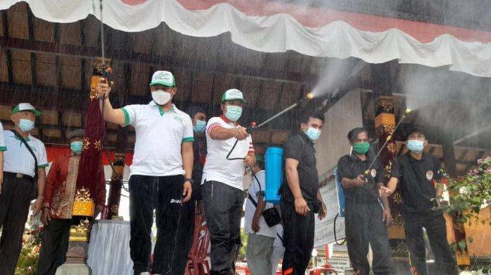 Bupati Bangli Hadiri Sosialisasi dan Penyemprotan Eco Enzyme, Eco Enzyme Dapat Mencegah Bau Busuk