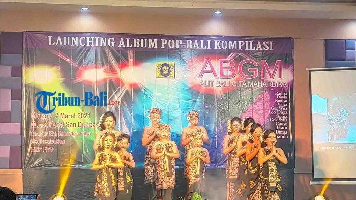 Lestarikan Lagu Anak-anak, Sanggar ABGM Launching Album Pop Bali Khusus Anak