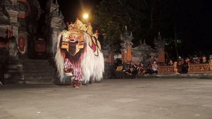 Sanggar Rare Angon Latihan Bapang Barong di Lapangan Kapten Mudita, Tampil di PKB Bali Hari Minggu
