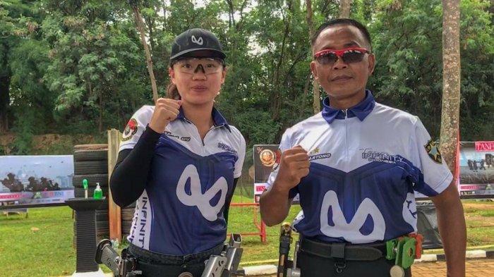Atlet Tembak Asal Bali Sarah Ayu Raih 4 Medali Emas Sekaligus di Kejurnas Menembak Sriwijaya