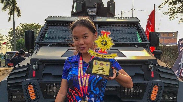 Sarah Tamaela Sabet Tiga Emas di Kejuaraan Menembak Piala Danwing I Paskhas Championship 2020