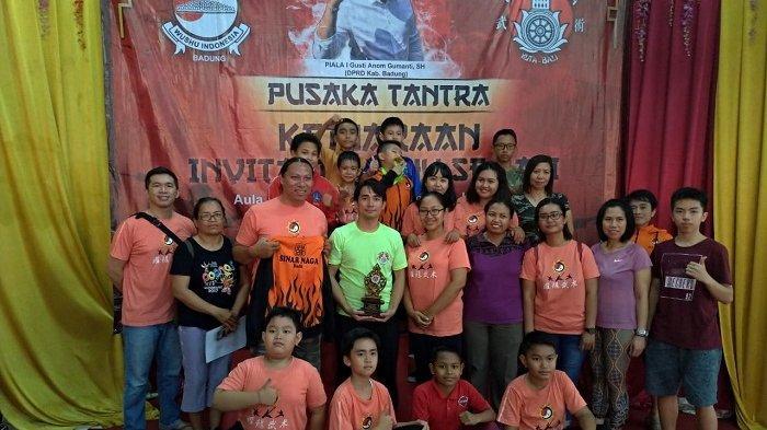 Pelatih Bangga, Setahun Berdiri,Sasana Sinar Naga Cao FukMiao Raih Juara Umum 3