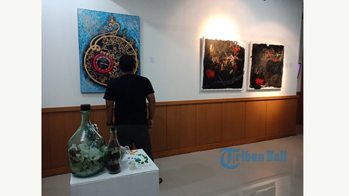 Pameran Puisi Yantra Kolaborasi Seni Rupa dan Sastra