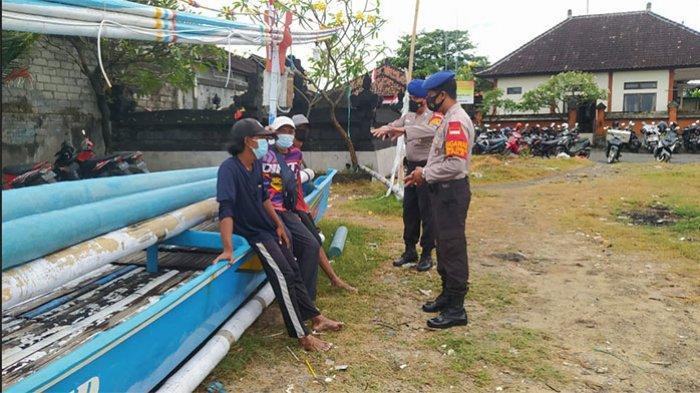 Sat Pol Airud Polresta Denpasar Gelar Patroli Pengamanan dan Prokes di Tiga Lokasi Ini