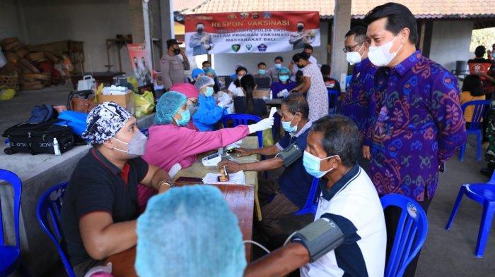15 Desa Cakupan Vaksinasi Masih Rendah, Satgas Covid-19 Klungkung Buka Layanan Vaksinasi Sore Hari