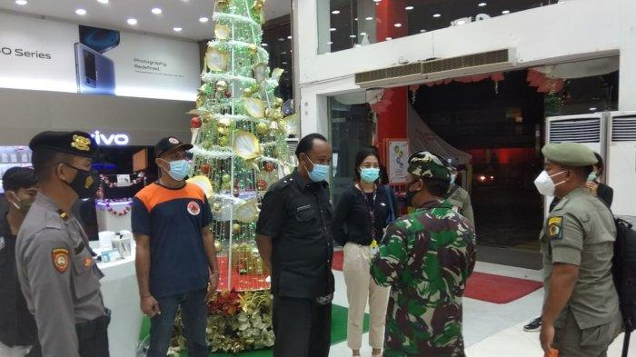 Jelang Tahun Baru, Satgas Enforce Kerumunan Kodim 1611/Badung Patroli di Kawasan Badung dan Denpasar