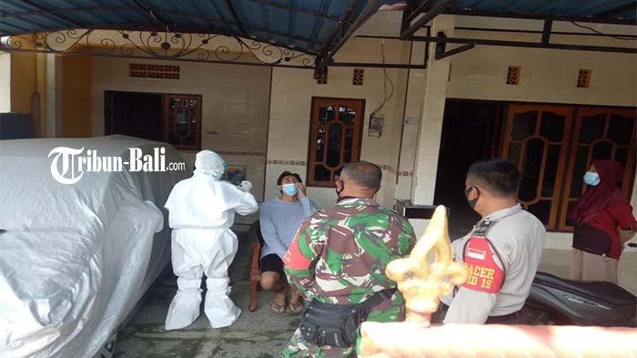 Polsek Kota Negara dan Satgas Penanganan Covid-19 Jembrana Tracing Kontak Erat dan Pantau Vaksinasi