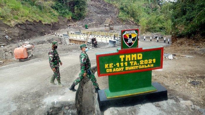 TMMD ke-111, Jalur Evakuasi Bencana di Kaki Gunung Agung Bali Itu Kini Telah Terhubung