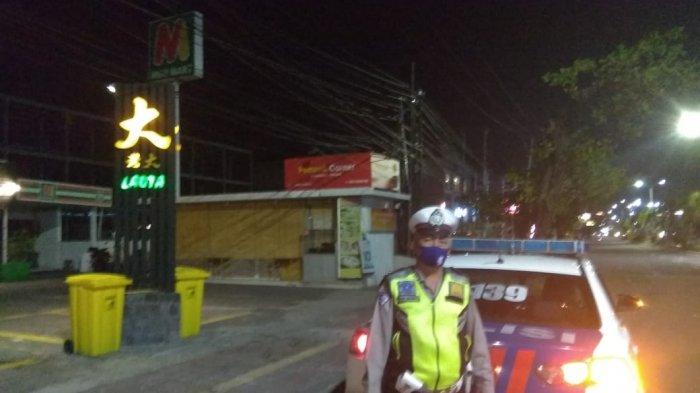 Satlantas Polresta Denpasar Giat Patroli Malam Cegah Balapan Liar dan Kerumunan Warga