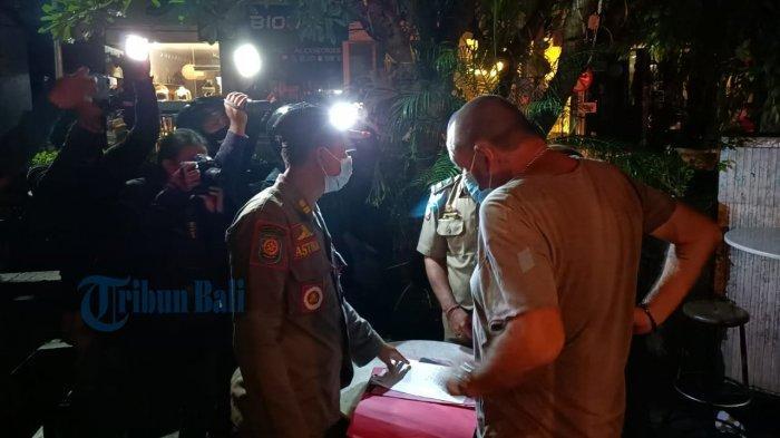 Satpol PP Badung Bali Masih Temukan Warung Buka Melebihi Jam 8 Malam